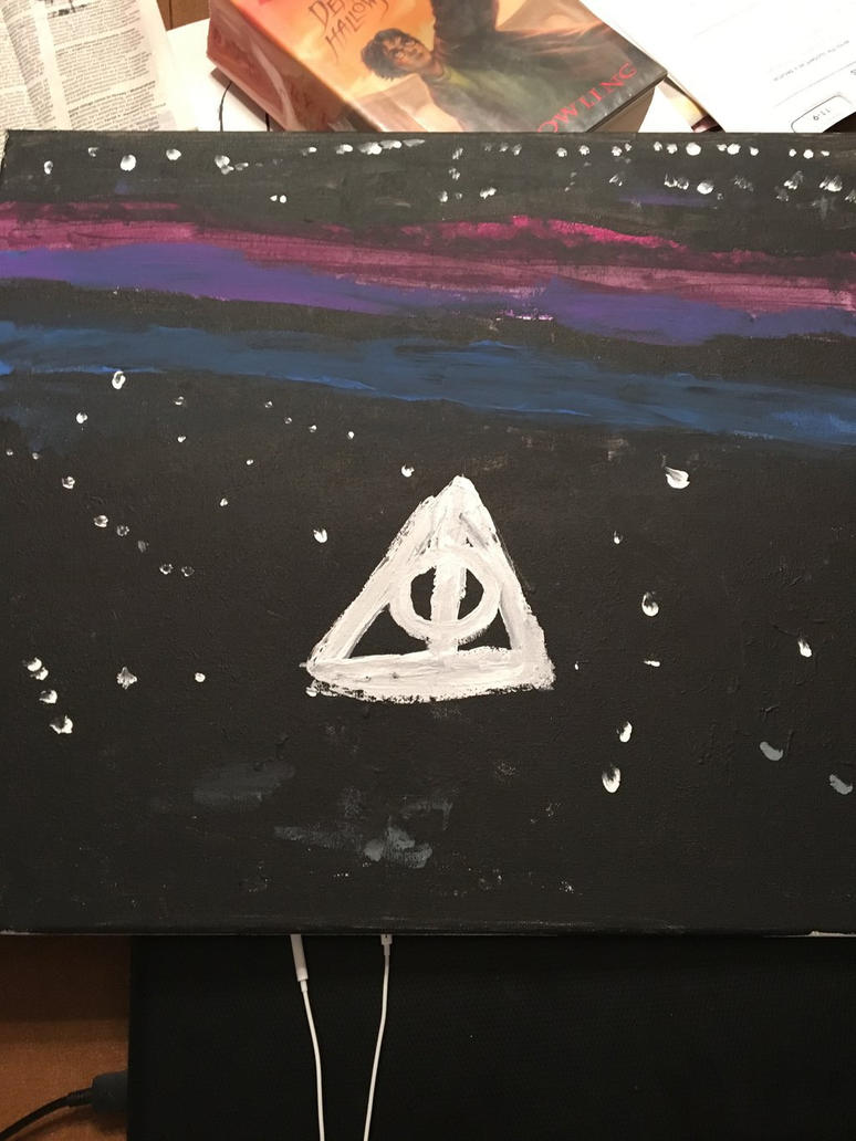 the deathly hallows by MintyLeafy