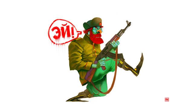 Katjusha Soldier