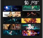 PACK: 10.PSD