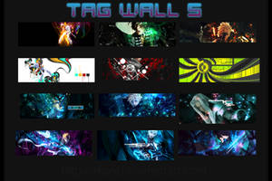 Tag Wall 5 by xKaref