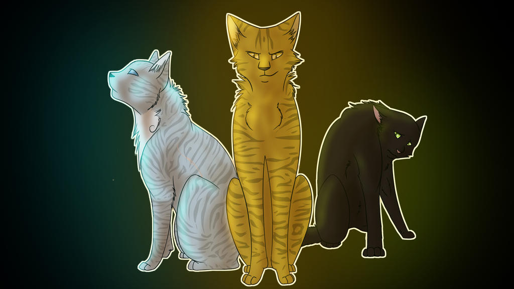 Warrior Cats Lionblaze Hollyleaf Jayfeather