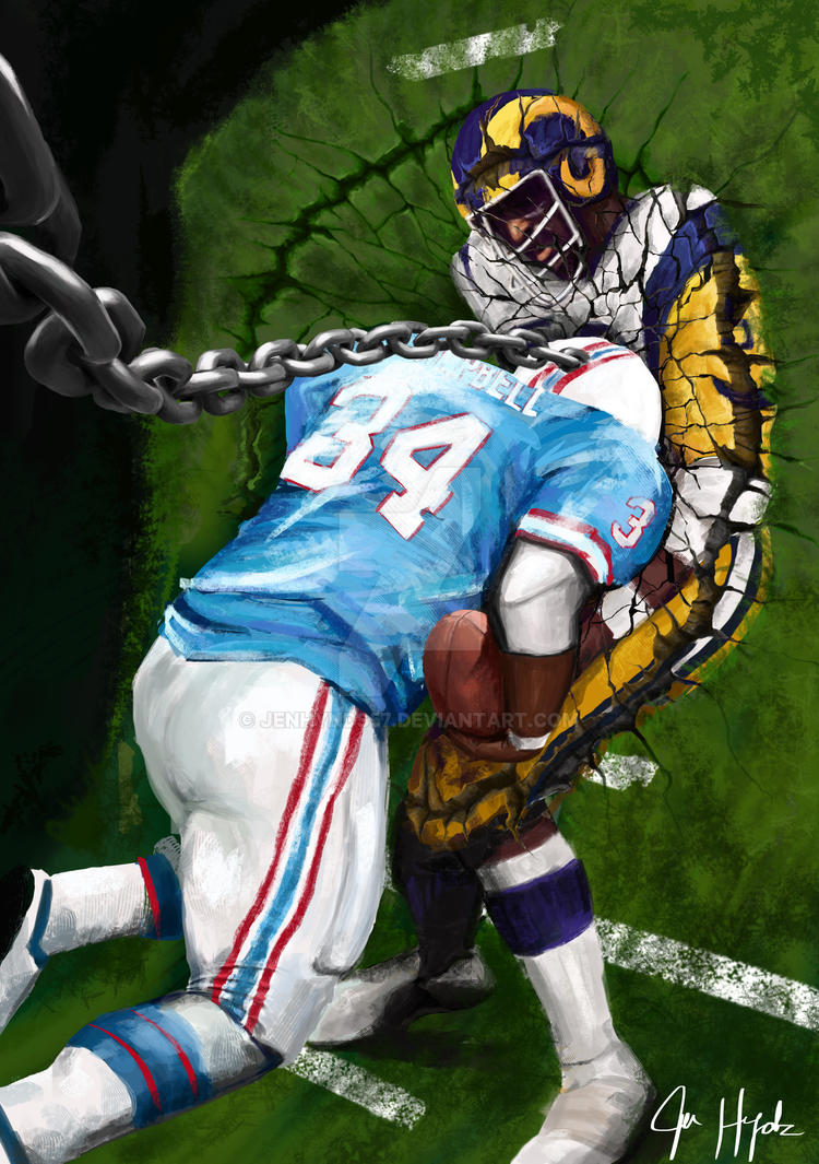 Earl campbell wrecking ball by jenhynds57