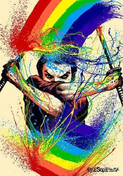 Rainbow Samurai Art