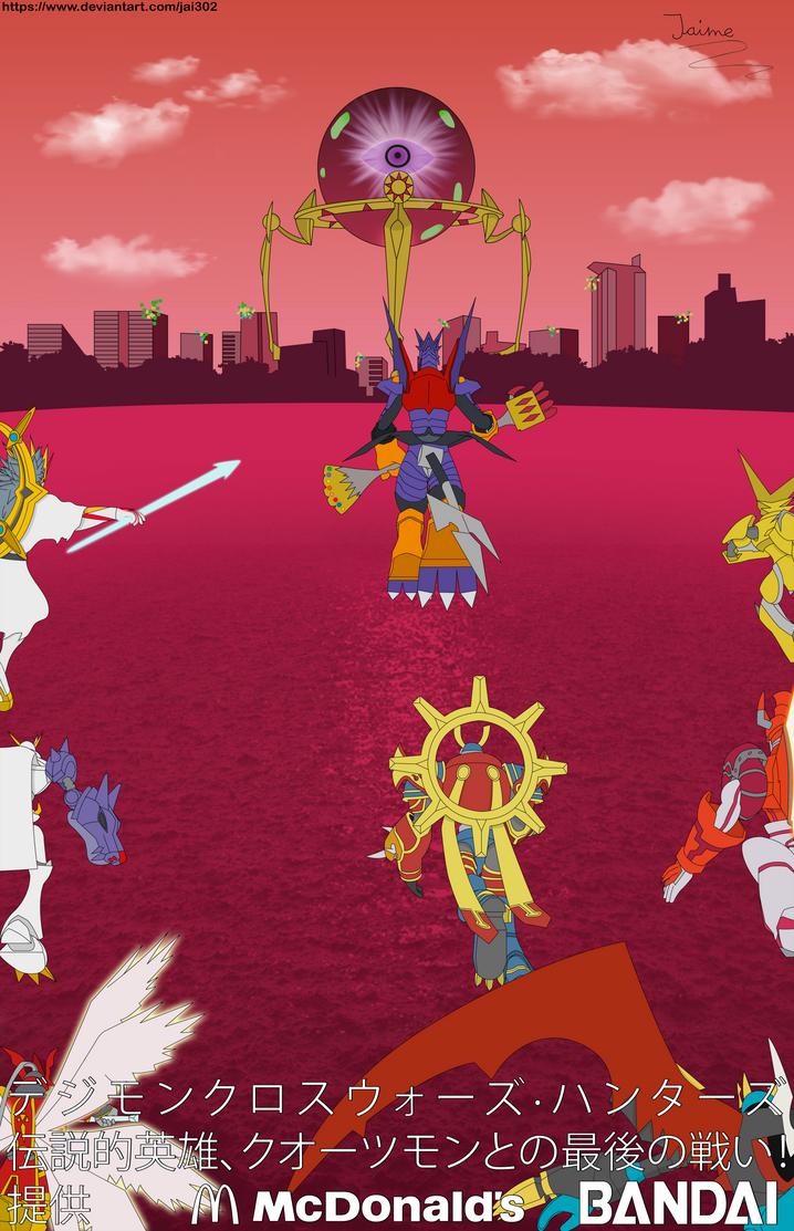 Digimon Xros Wars Hunters Poster V2