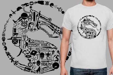 Mortal Kombat T-Shirt by Jai302
