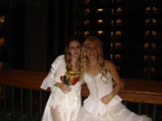 Christine Daae and Meg