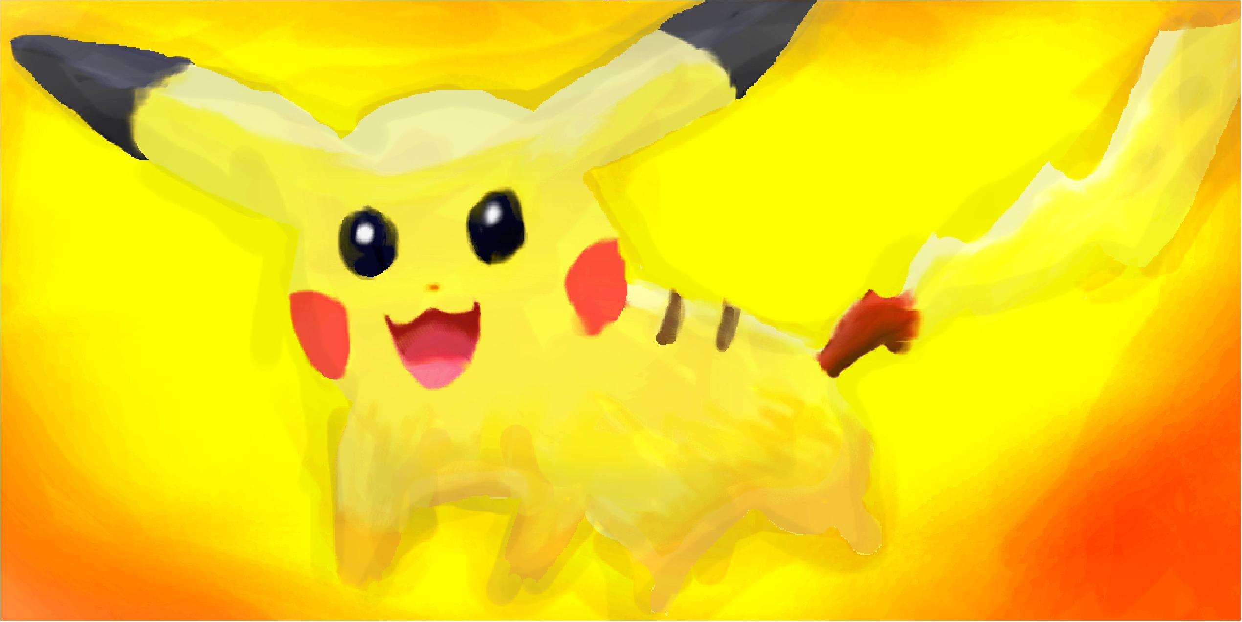 Pokemon: Pikachu - Thundershock by Cleasia on DeviantArt