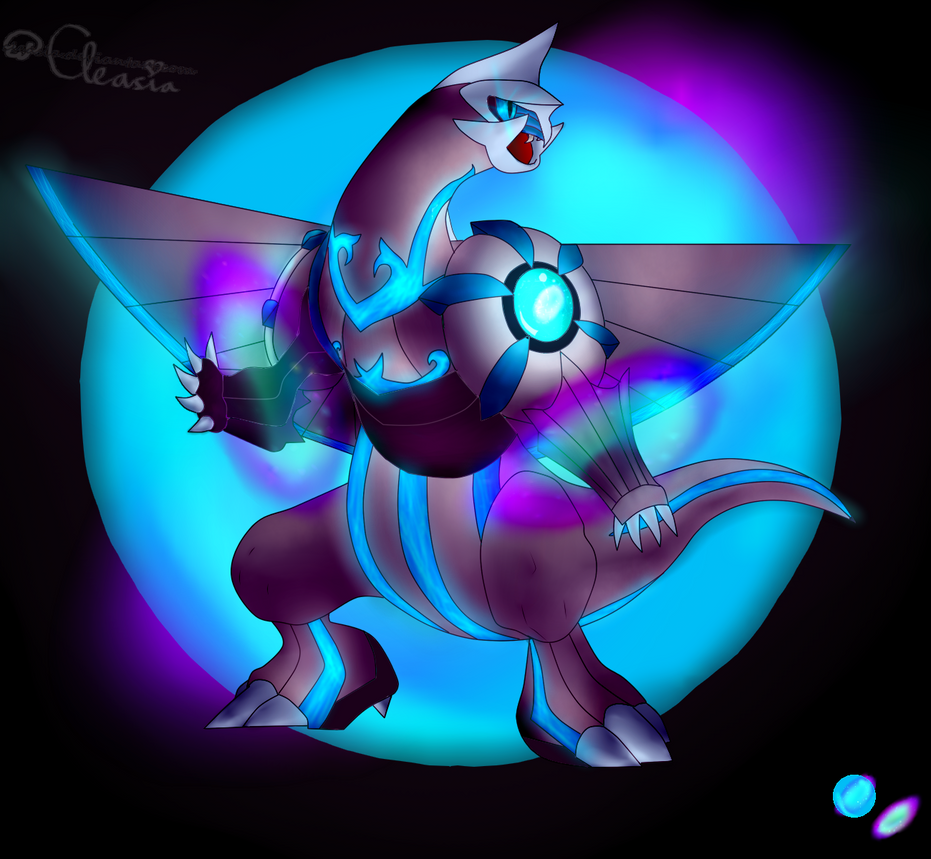 CE: Primal Evolution - Palkia by Cleasia on DeviantArt