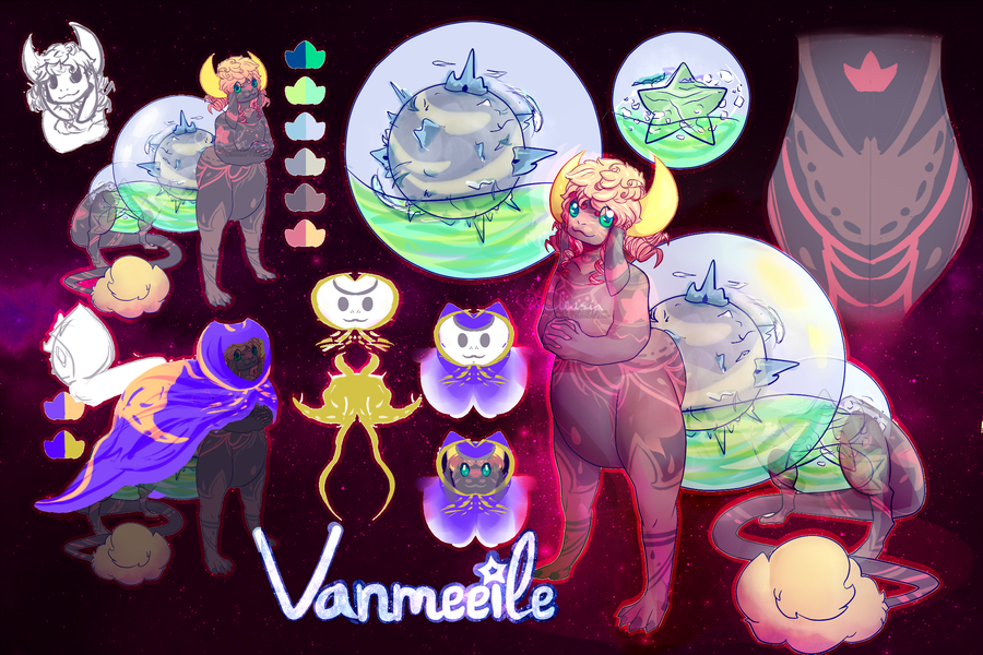 MYO - Vanmeeile the Lapnin. by Cleasia