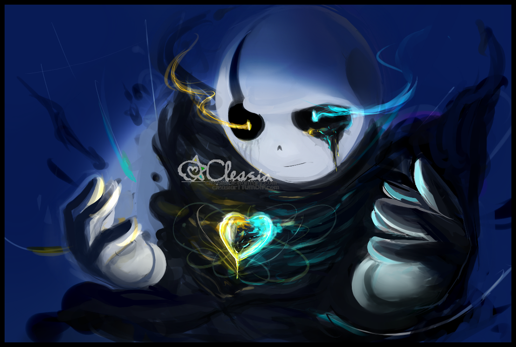 Undertale: Gaster by Cleasia