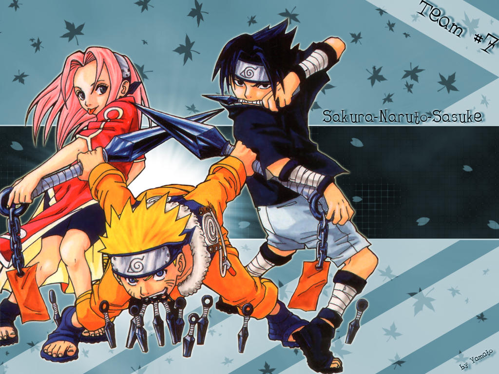 Best Wallpaper Naruto Deviantart - naruto_team_7_wallpaper_by_yamato_chan  2018_366112.jpg