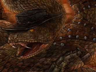 Rattlesnake Jake by Ciameth
