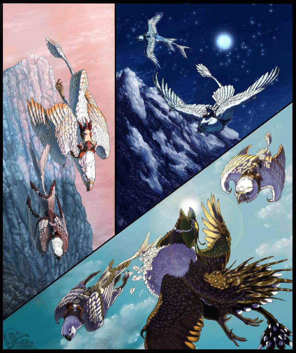 Gyrfalcon Tributes by Ciameth