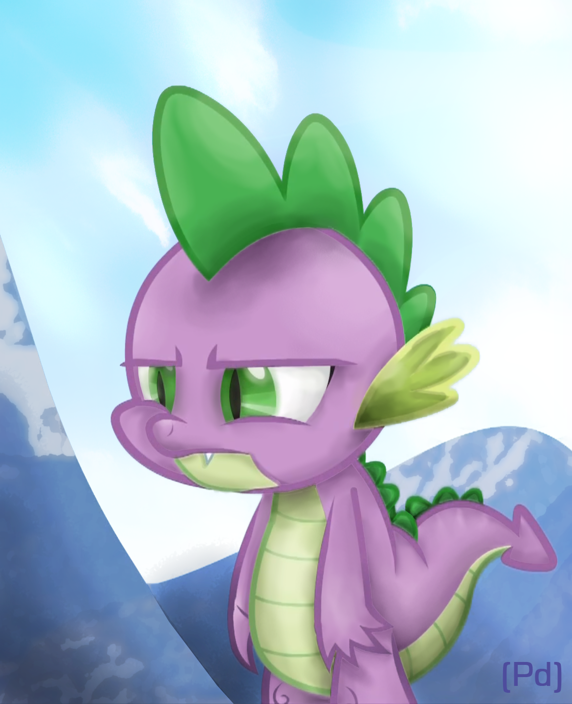 Spike Is Not Amused by pdan4