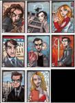 Heroes Sketch Cards