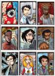 Sketchcards - More Heroes