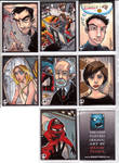 Sketchcards - Even more Heroes