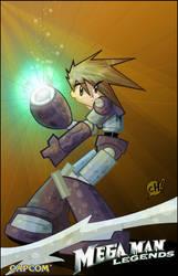 Mega Man Legends by JeremyTreece