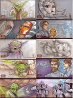 Clone Wars Season 1 cards : 01 by JeremyTreece