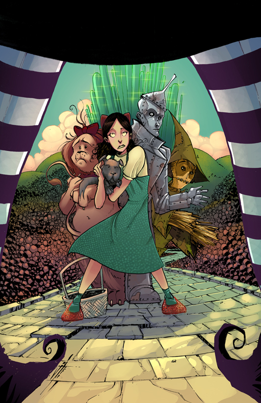 Wizard of OZ colors by JeremyTreece