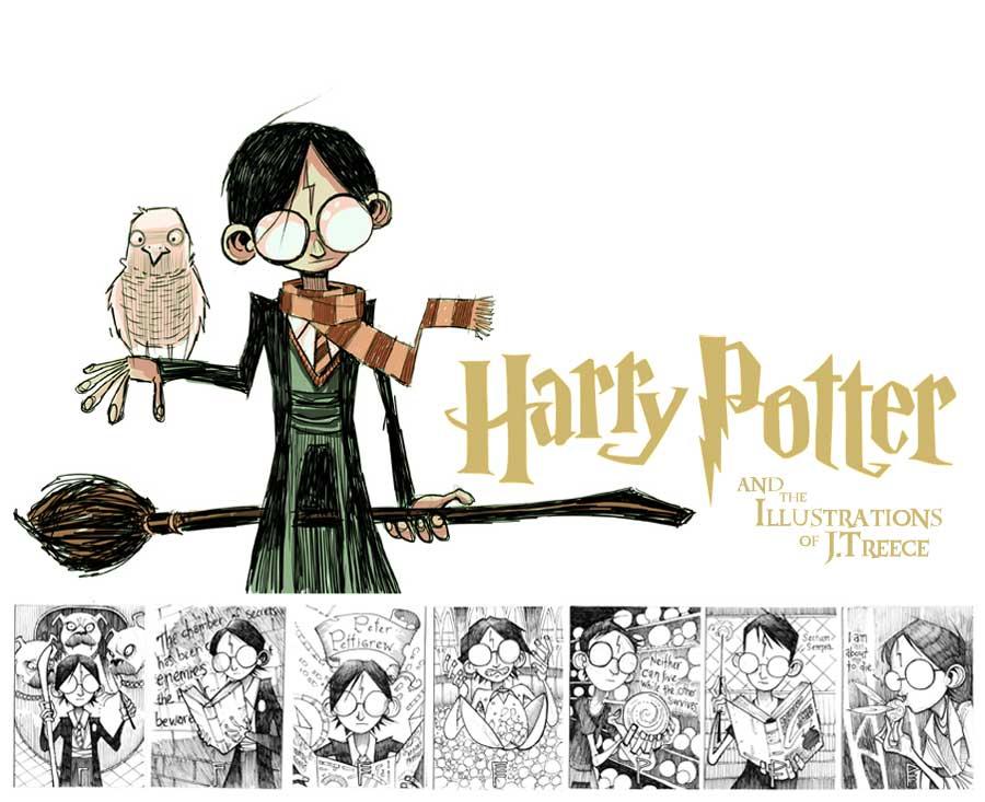 Harry Potter 01-07 by JeremyTreece