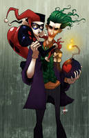 Harley and Joker by JeremyTreece