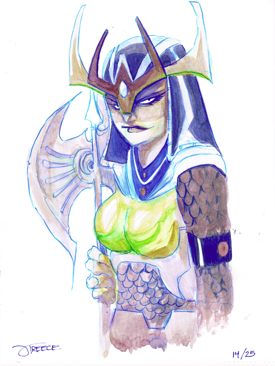25 Days of DC - Big Barda by JeremyTreece