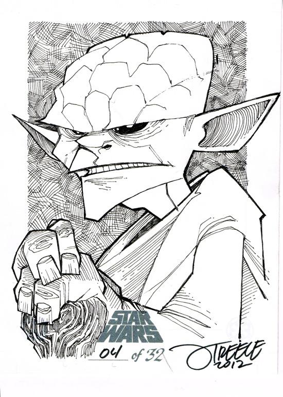 SW - Yoda by JeremyTreece