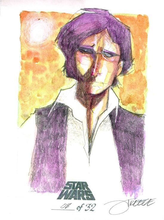 SW - Han Solo by JeremyTreece