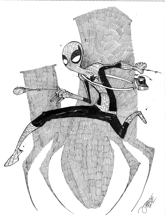 Spider-Man commission sample by JeremyTreece