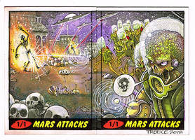 Mars Attacks artist proof puzzle by JeremyTreece