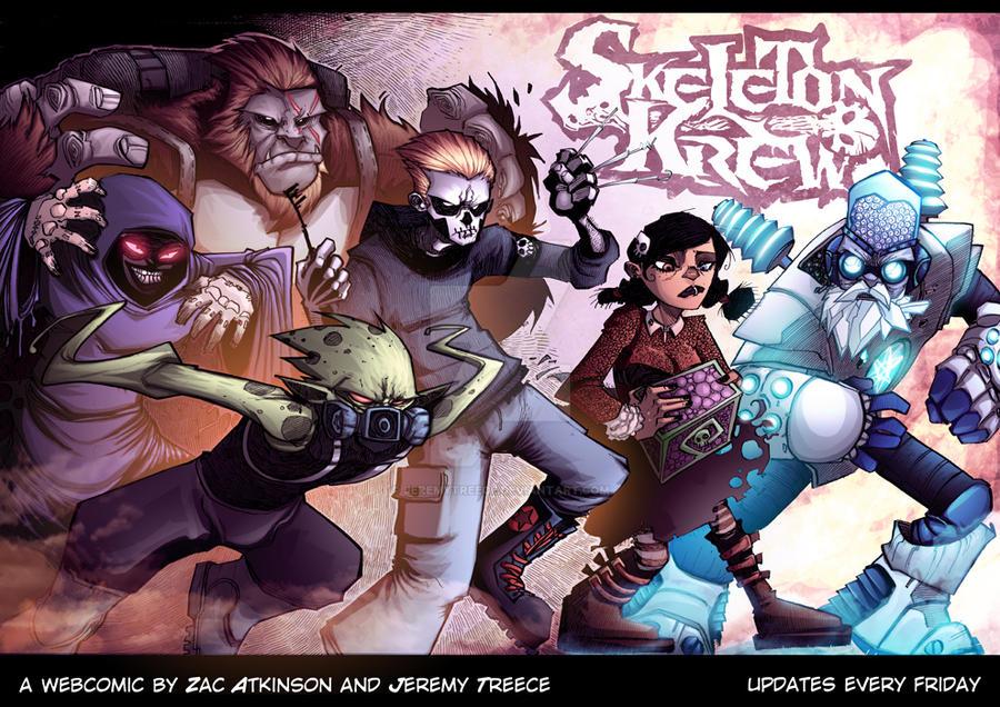 SkeletonKrew web cover by JeremyTreece