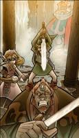 Zelda, Link, Gannon...