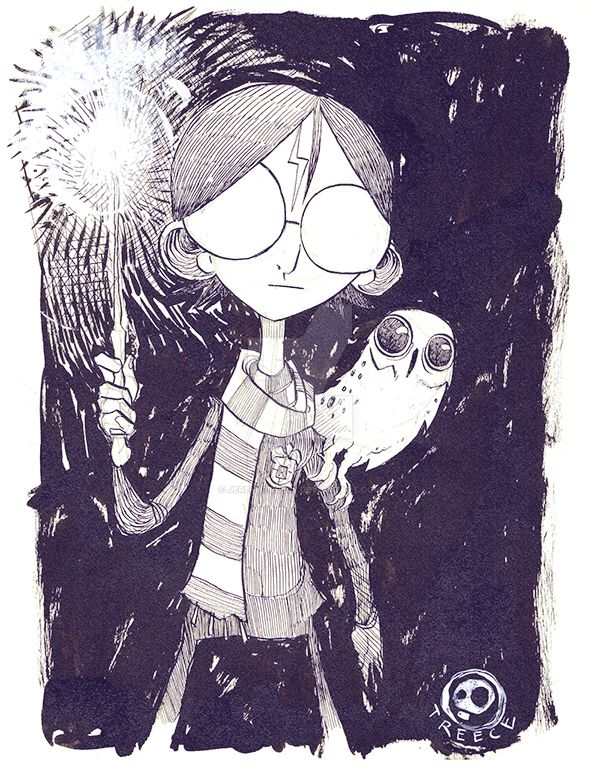 Harry and Hedwig by JeremyTreece