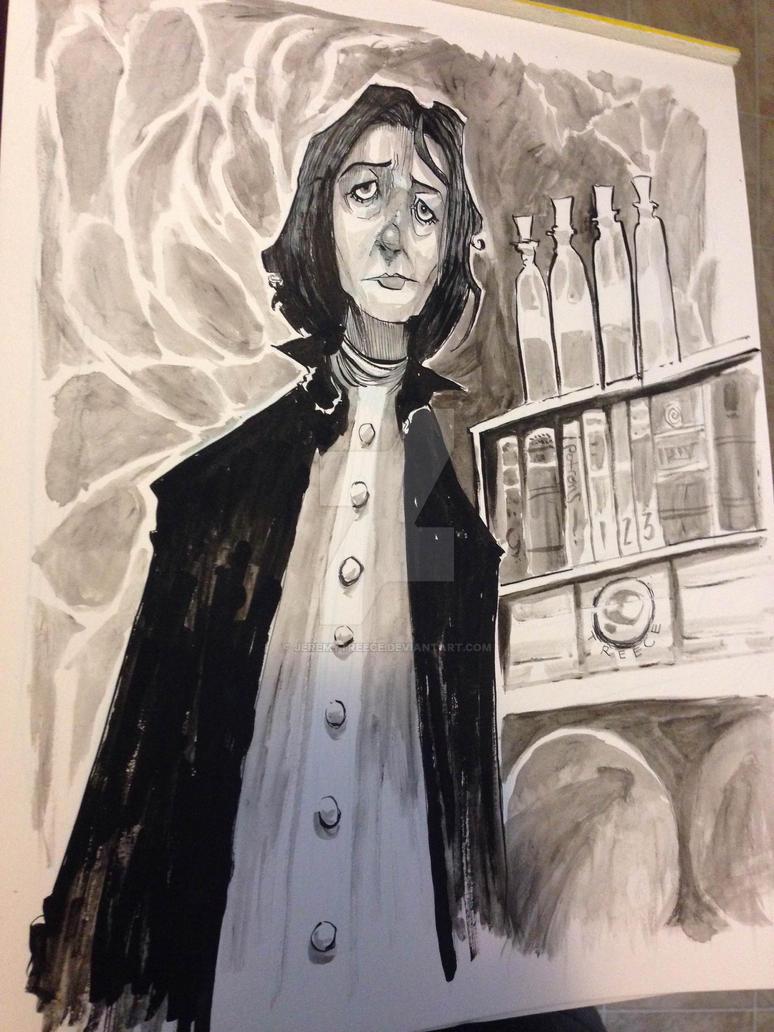 Severus Snape by JeremyTreece