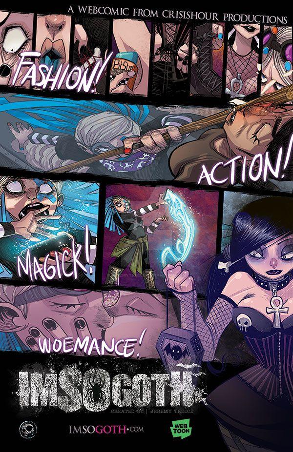 I'm So Goth! Webtoon by JeremyTreece