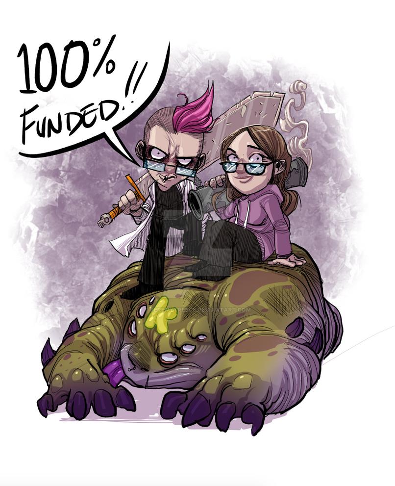 100 Percent Kickstarter Milestone! by JeremyTreece