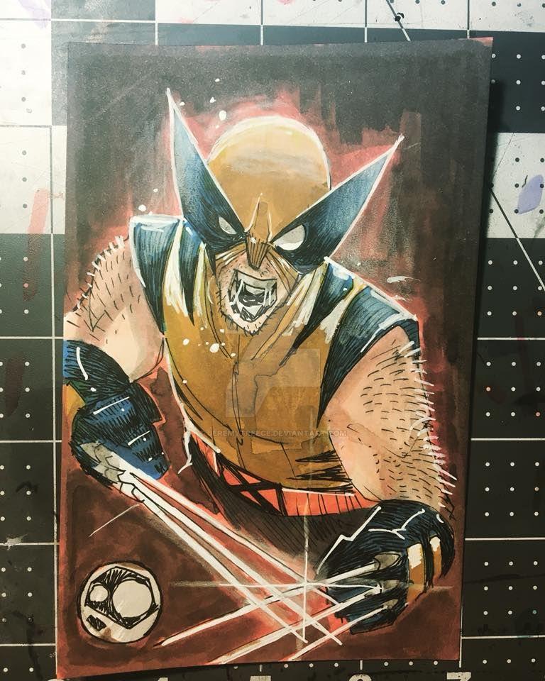 $50 Wolverine color by JeremyTreece