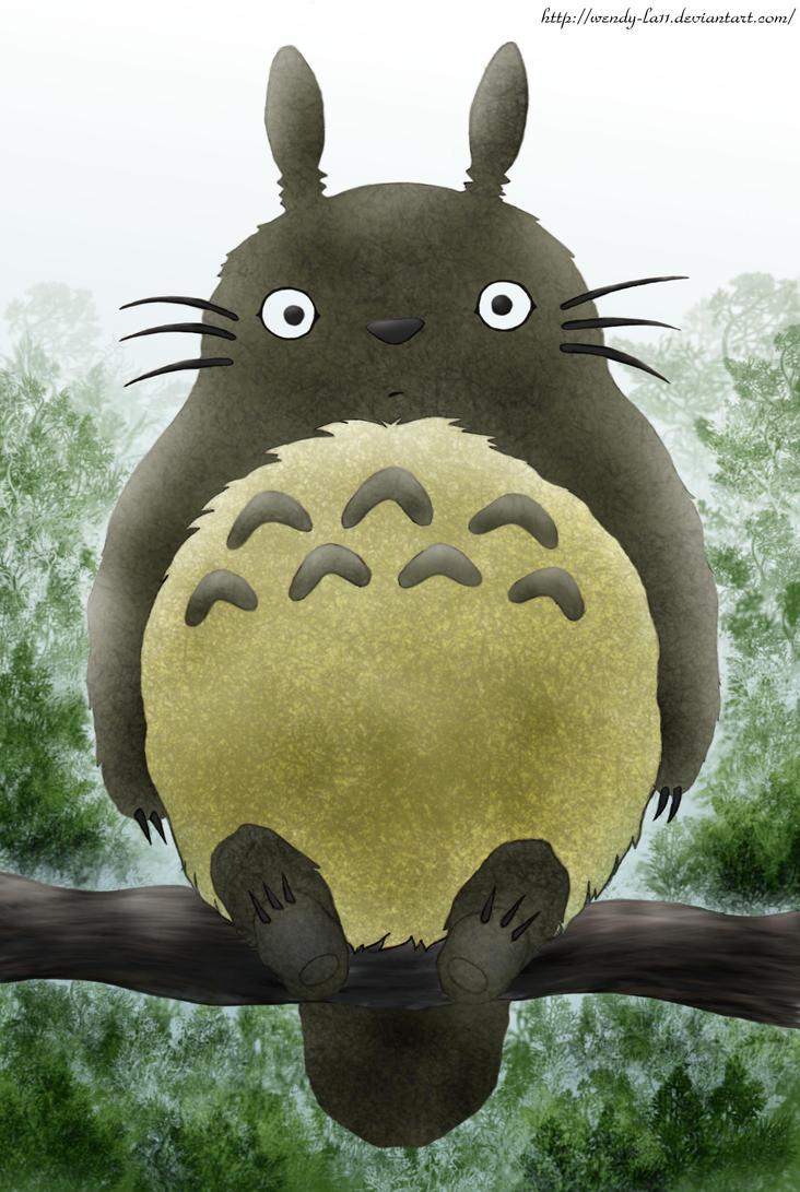 Totoro by Wendy-la11