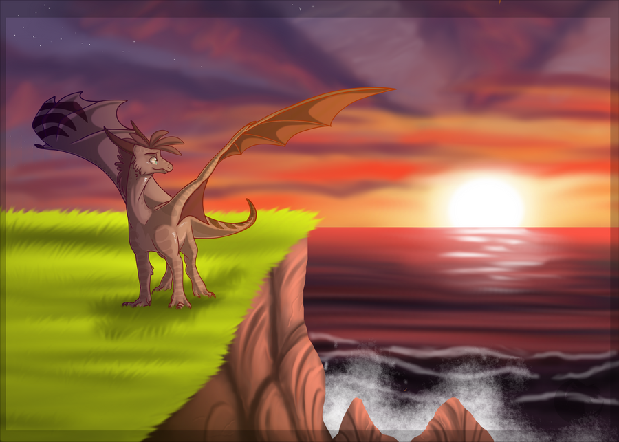 To The Setting Sun by AzuL-J