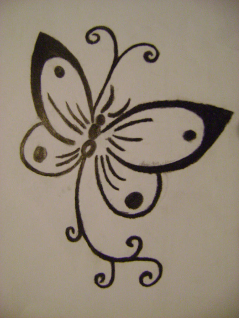 butterfly tattoo by vashta nerada91 on deviantart. Black Bedroom Furniture Sets. Home Design Ideas