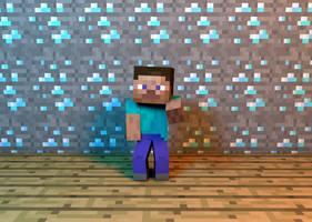 Minecraft Dude by Ork24