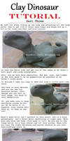Clay Dinosaur Tutorial: Part 3