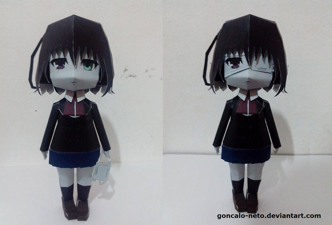 Another Mei Misaki Papercraft