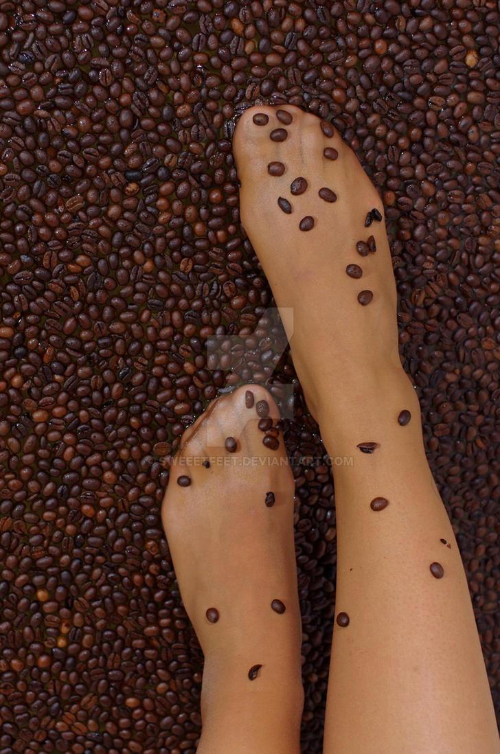 walking on coffee by sweeetfeet