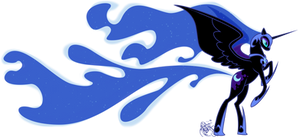 mlp:fim Let There Be Night by emeralddarkness