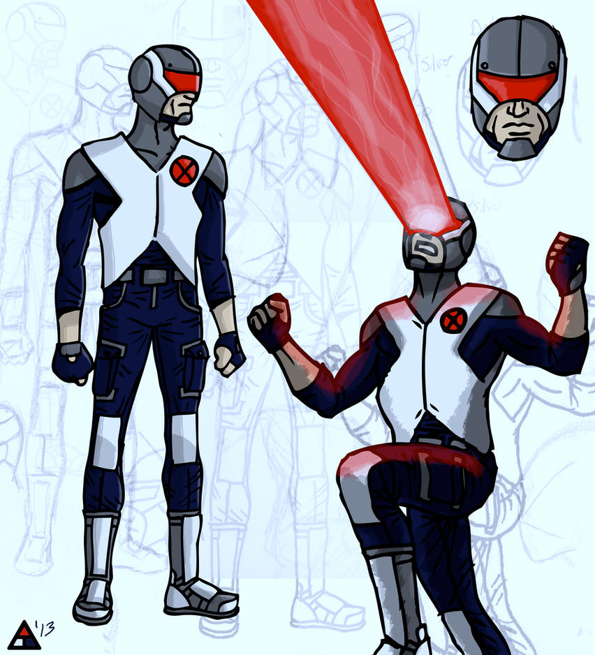 Cyclops Redesign by toekneearrows