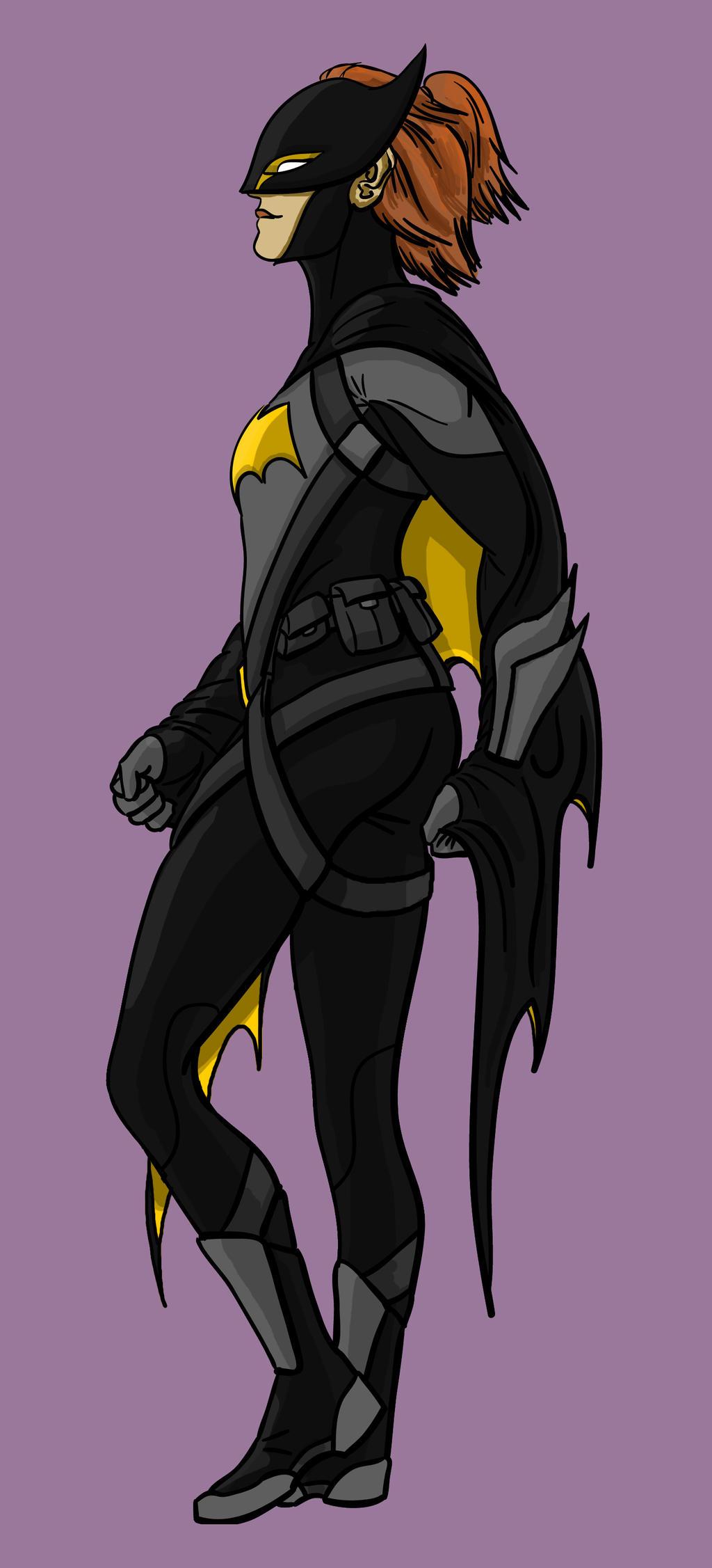 Batgirl (Standing) by toekneearrows
