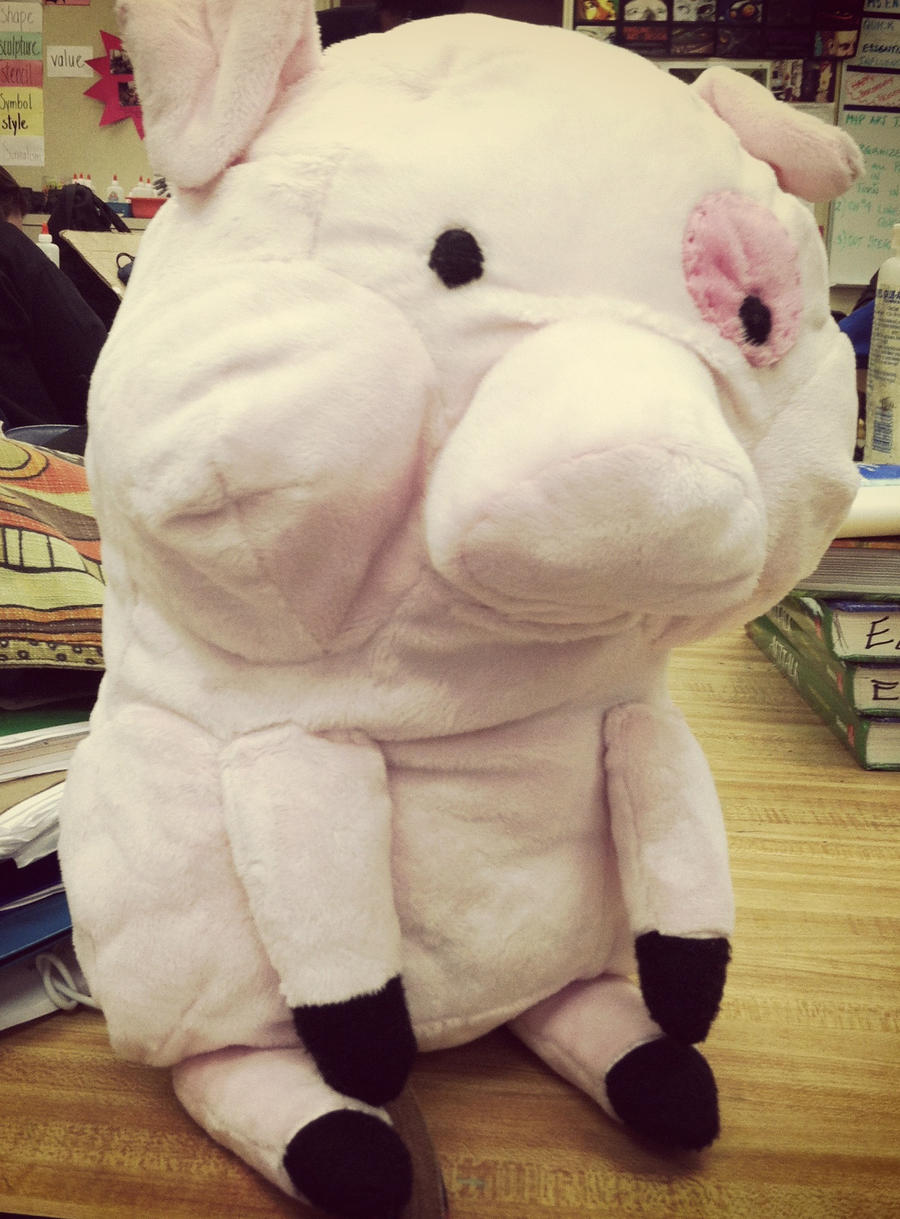 Waddles Plush by Lyrehn