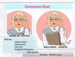 Commission Sheet by Vanya93